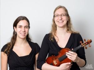 Eline van Vroonhoven en Rolin van Opstal, duo viool piano Rolin Kamermuziek Ensemble